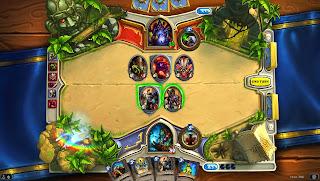 hearthstone heroes of warcraft artwork 9 Blizzcon 2013   Hearthstone: Heroes of Warcraft (iOS/OSX/PC)   Game Board Artwork