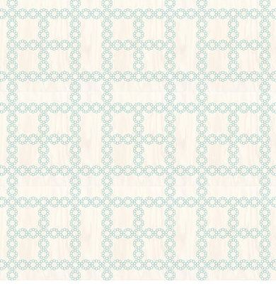 COCOCOZY Chain wood floor tiles in light blue