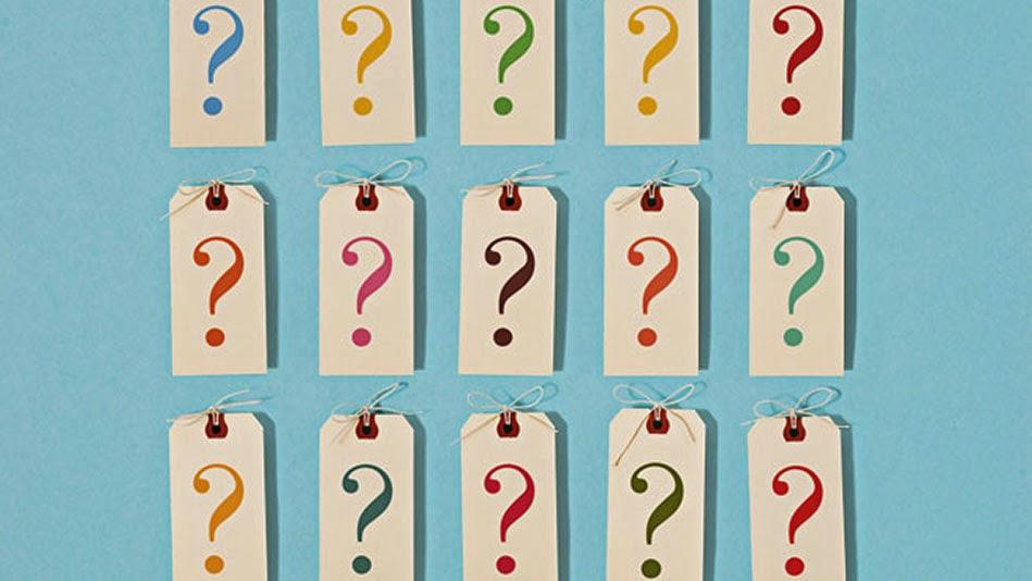 Etiquetas con preguntas