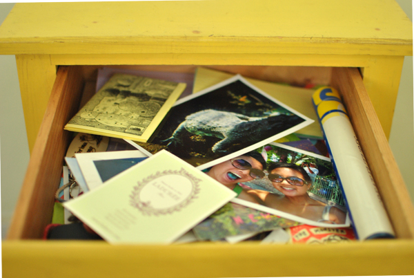 drawer contents