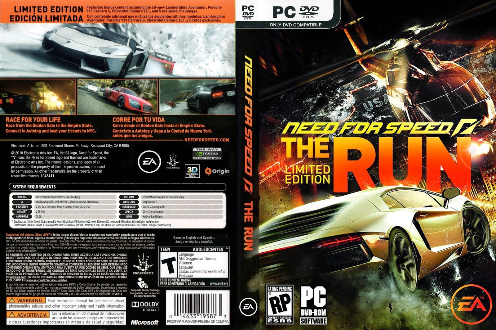 Need For Speed The Run – PC Torrent Free - Torrents Download