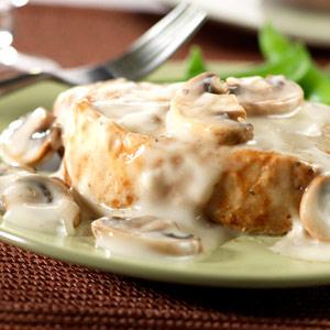 Cook's Notebook: Pan Seared Pork Loin with Creamy Mushroom Pan Sauce