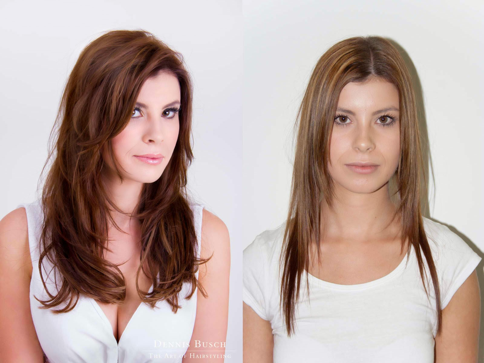 Woman's haircut (BEFORE & AFTER)