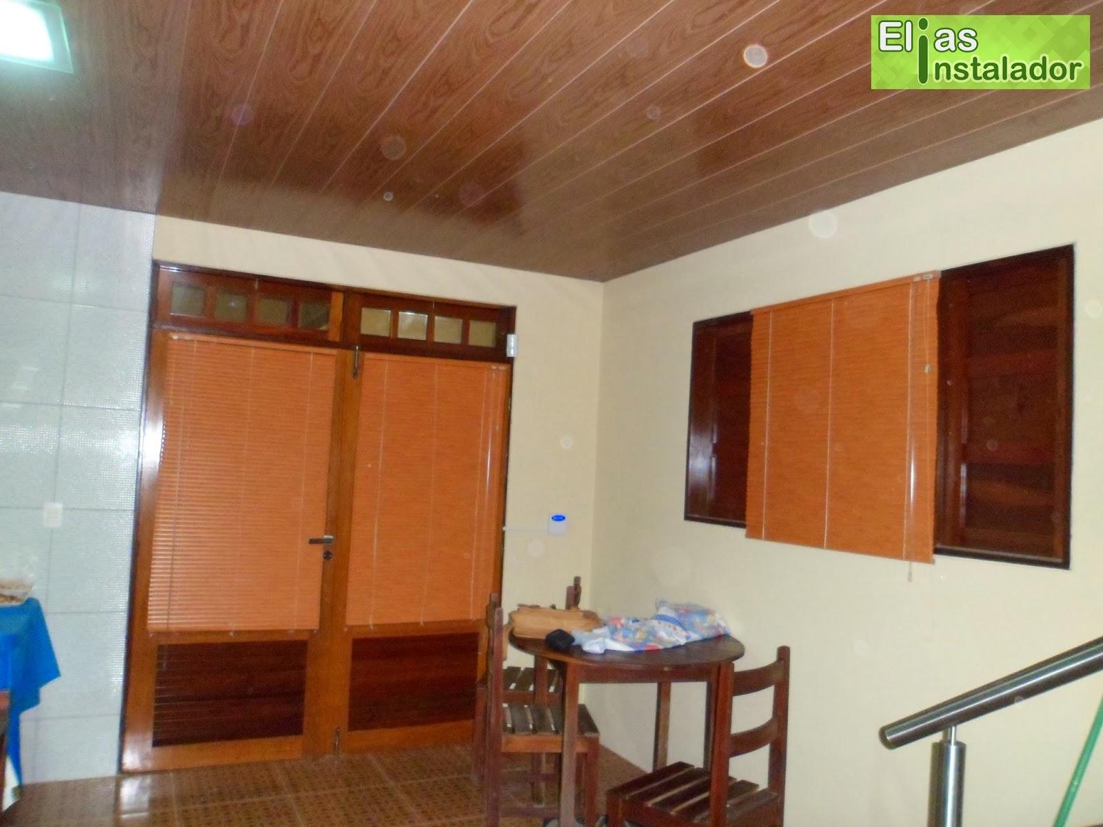 #461C10 Elias Instalador: Persiana horizontal cor madeira em porta e janela 606 Janelas Em Pvc Cor Madeira