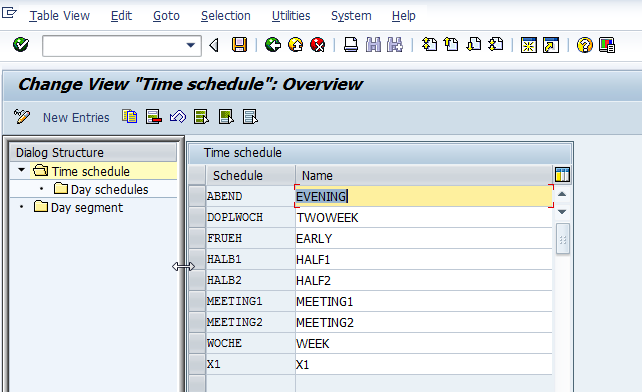 never stop learning create new time schedule for course