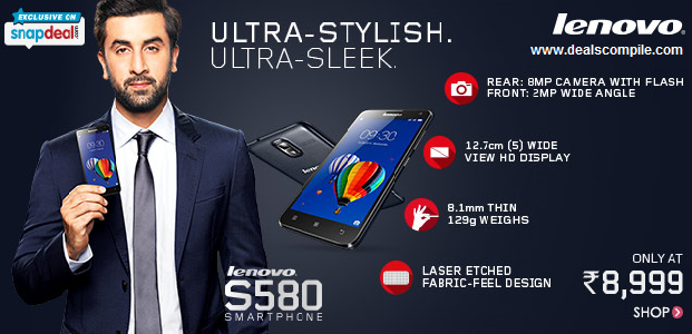Lenovo S580 - Snapdeal Exclusive Launch