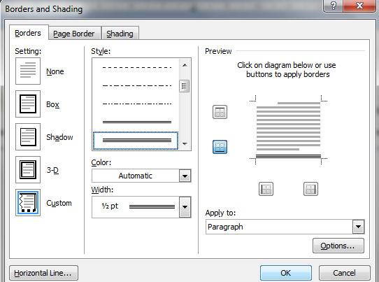 BULAN DAN BINTANG: Cara Membuat Kop Surat di MS Word 2007