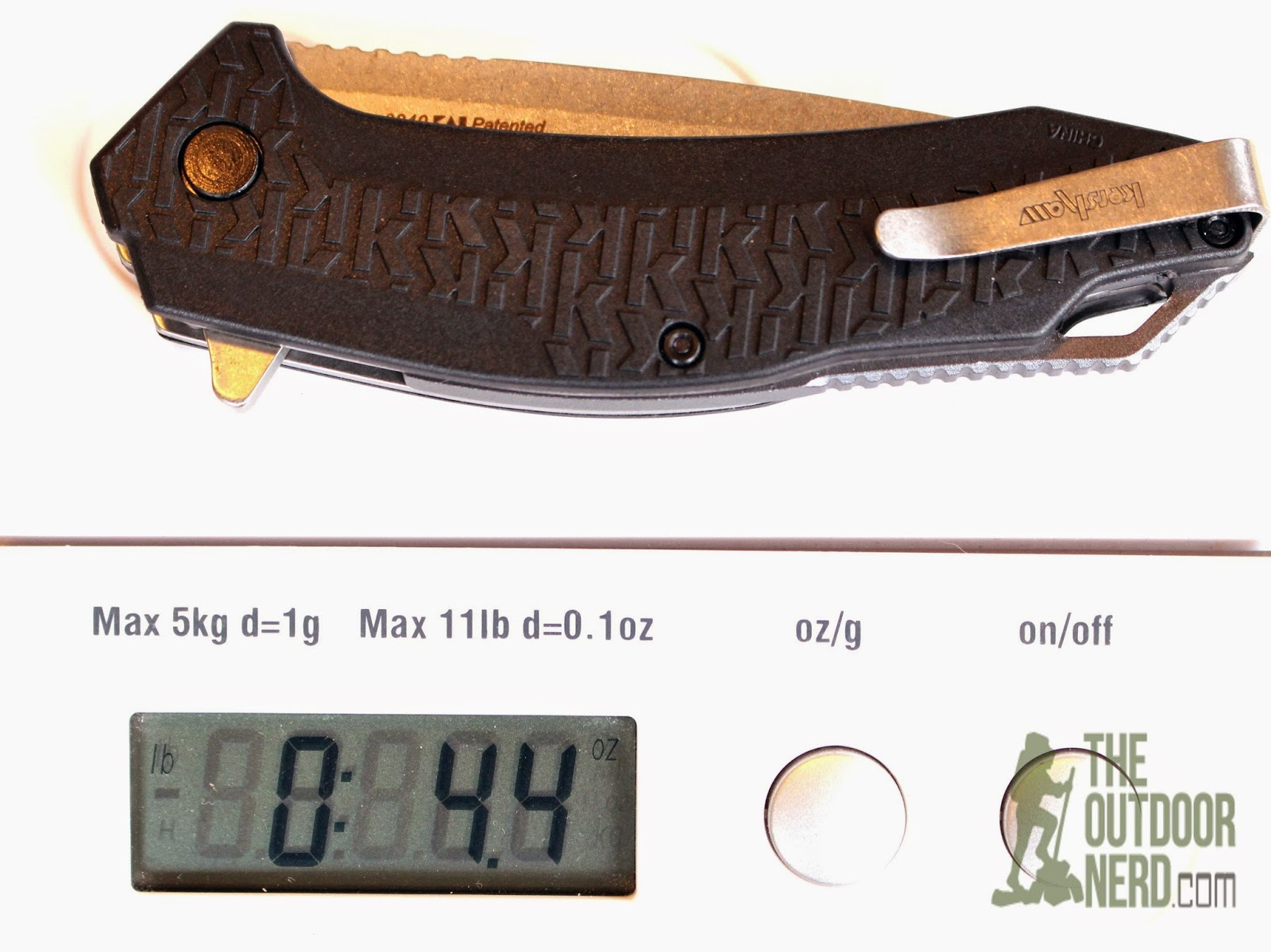 Kershaw Frefall EDC Pocket Knife - On Scale