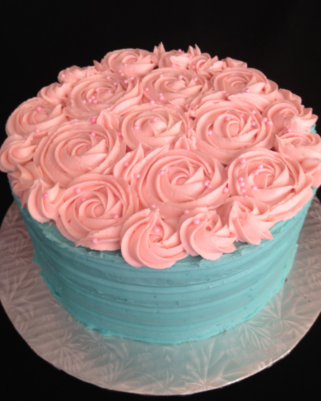 Tiffany Blue with Roses
