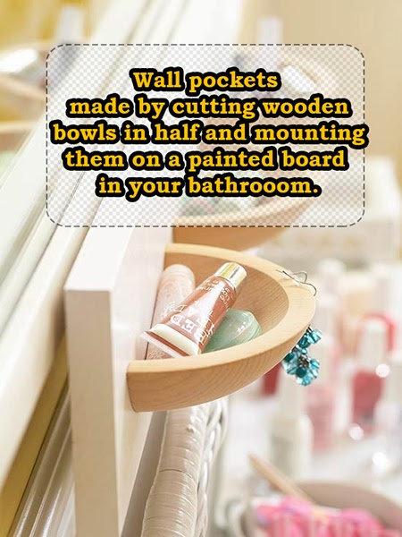 Wooden Wall Pockets