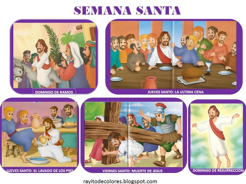 Semana Santa imágenes infantil