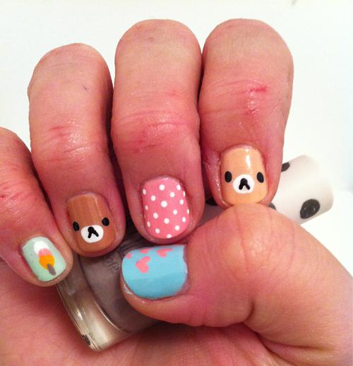 26 Impossible Japanese Nail Art Designs: All Things Kawaii And Trendy In Japan: Kawaii Nails
