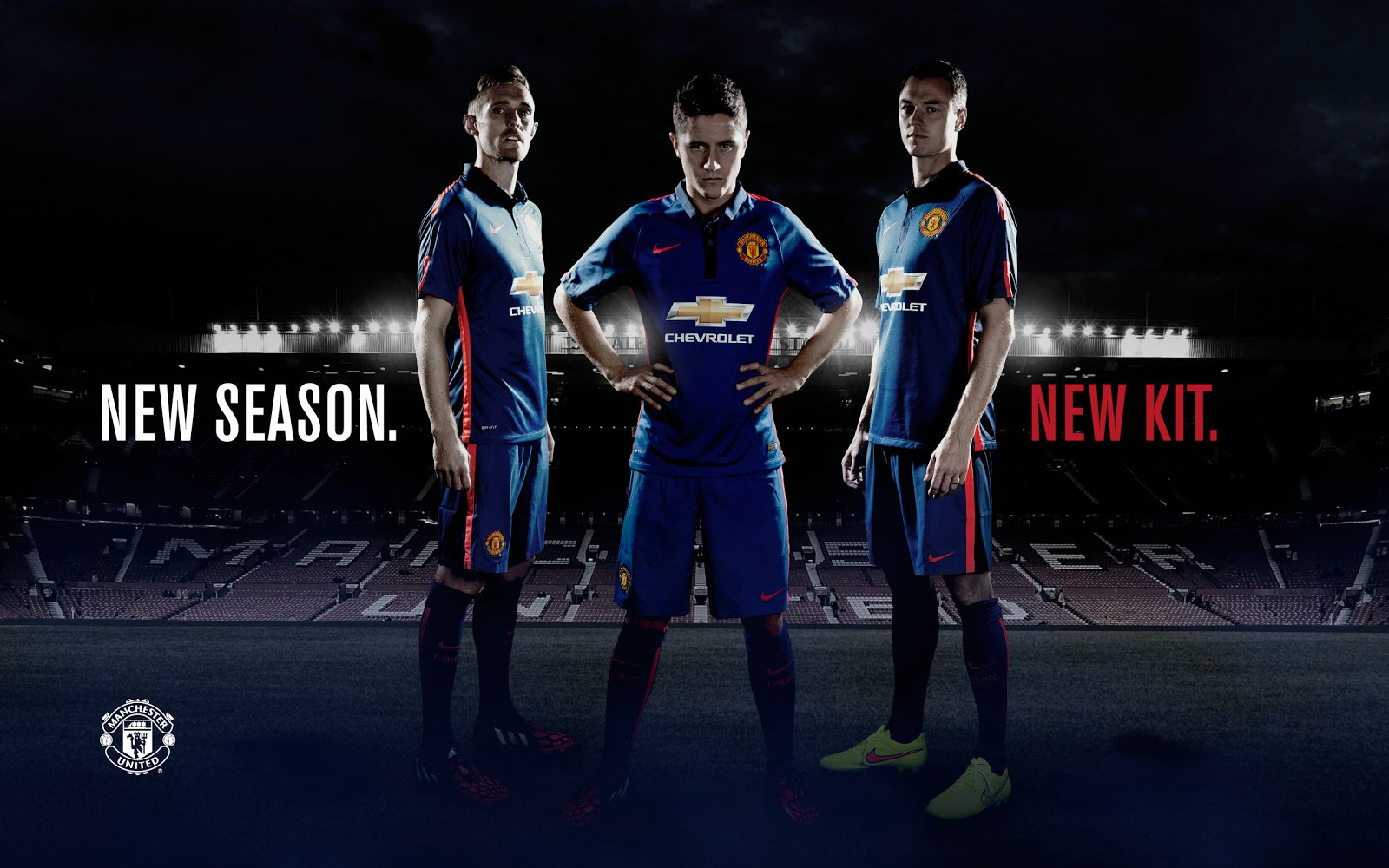 2014-15 season  The new Manchester United 14-15 Jerseys are unveiledManchester United 2014 Away Kit