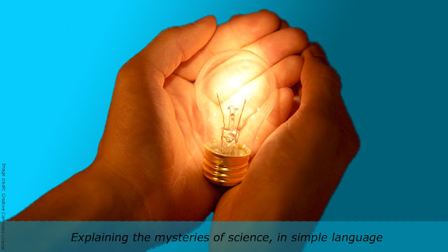 Explaining the mysteries of science, in simple language