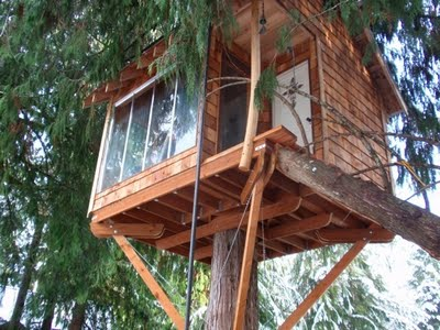 Relaxshackscom Judy Hardings Tree House Cabin in Glacier WA
