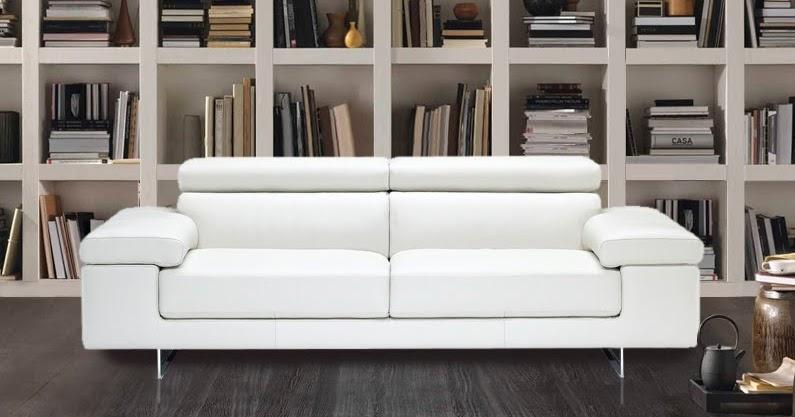 En mundo en tus manos sof s de piel blancos - Precios de sofas de piel ...