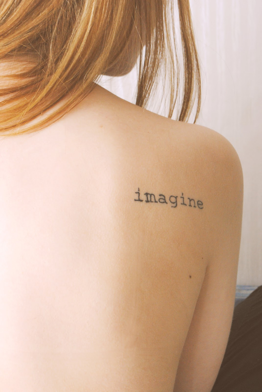 Imagine Tattoo