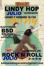 JULIO LINDY HOP  Y ROCK&ROLL, EN MÁLAGA EN BSD MÁLAGA CENTRO.