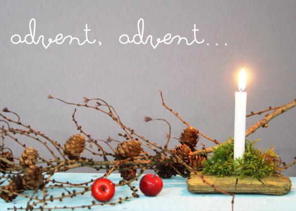 Natürliche Adventsdeko selbstgemacht
