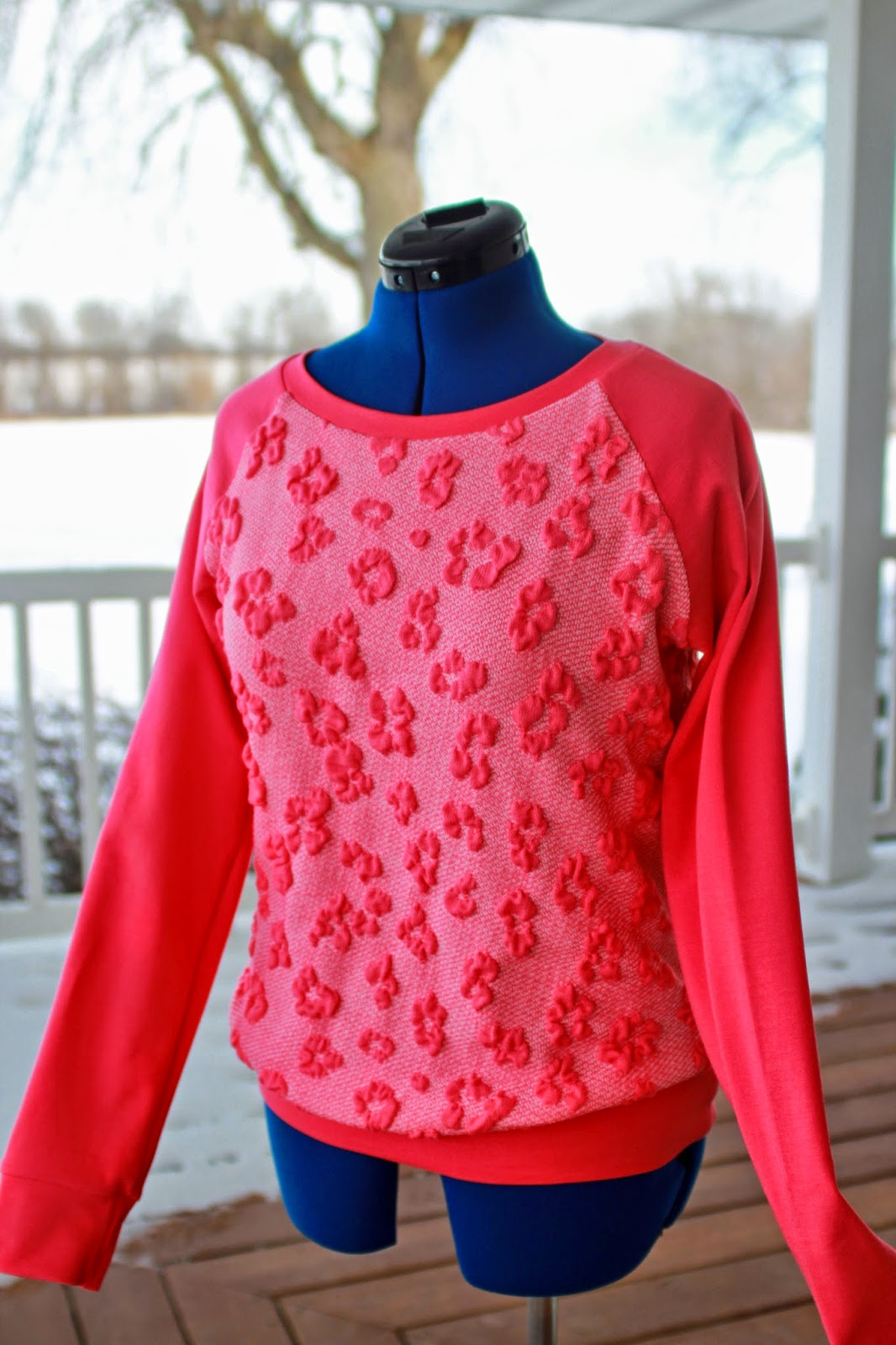McCall's 6992 sweater knit top