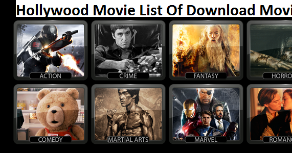 hollywood movies list 2016 free download in hindi