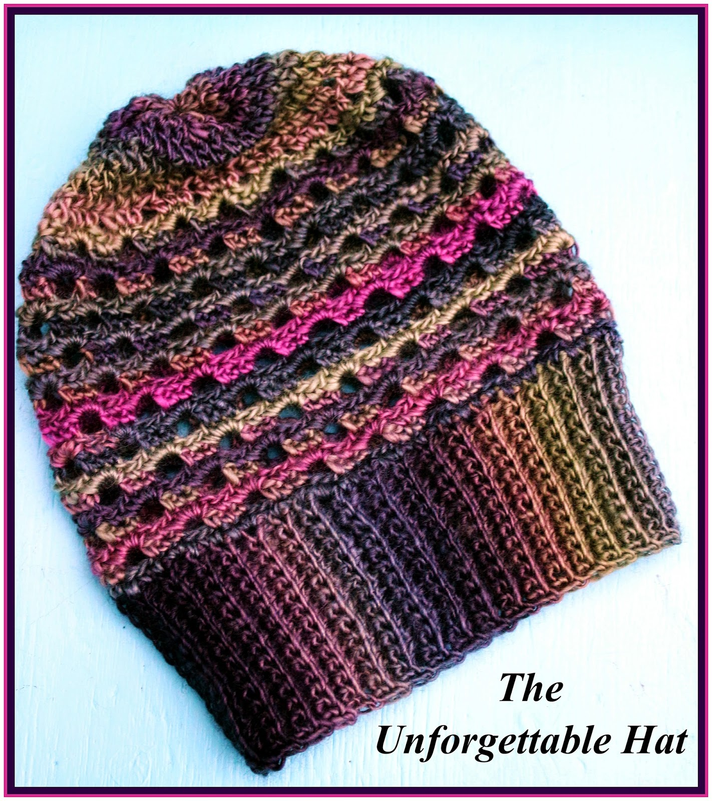 Crochet Supernova: The Unforgettable Hat ~FREE PATTERN~