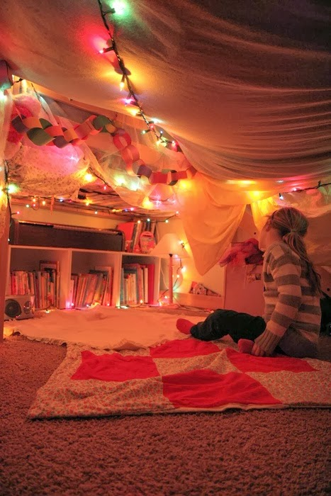 Blanket Fort Competition