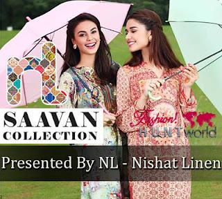 Nishat Linen Saavan Special Lookbook
