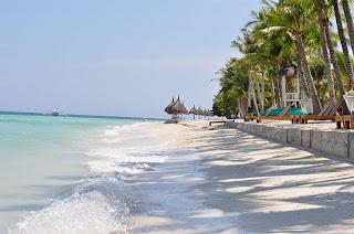 The beach of Bohol Beach Club