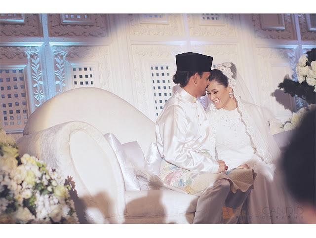 Gambar Pernikahan Lisa Surihani dan Yusry versi edited