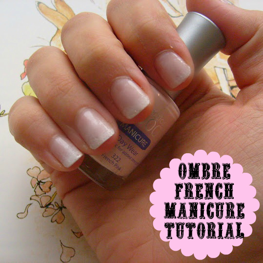 Katy clouds ombre french manicure tutorial how to solutioingenieria Choice Image