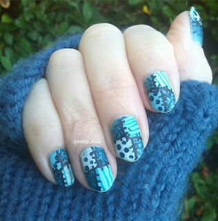 Teal and Patchwork