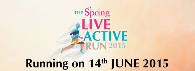 Spring Mall Live Active Run 2015
