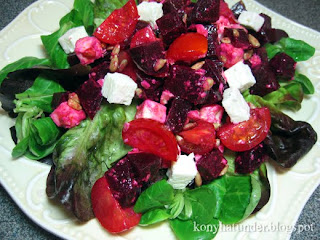 beetroot-feta-greens-salad