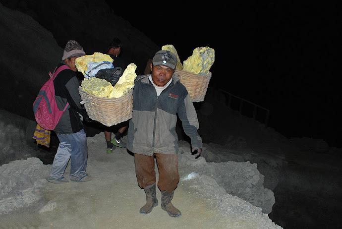 Minero de noche