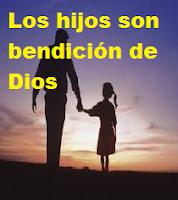 LOS HIJOS SON UN PLAN DE DIOS