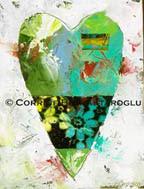 Heart painting by jafabrit © c.bayrak