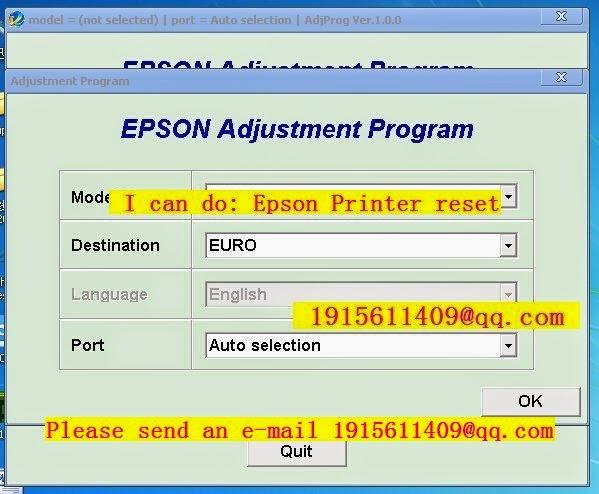 Adjustment Program Epson Sx435w Download