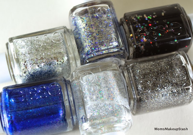 Essie Nail Polish, Essie Encrusted Treasures Collection, essie Holiday 2013, Essie Swatches