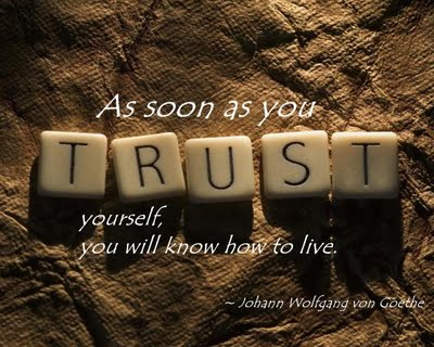 quotes on trust. and trust. quotes on