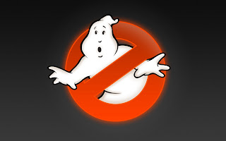 Ghostbusters Logo Character Background HD Wallpaper