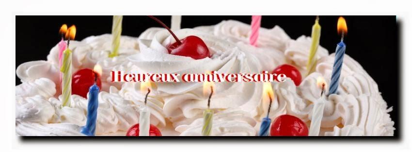 Sms et message heureux anniversaire