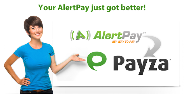 alertpay will turned into payza