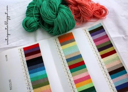 Ricolini - palete de  cores - fio de algodão