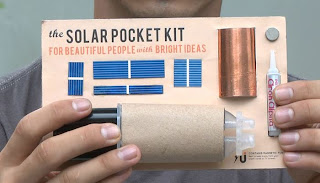 Solar Pocket Kit from the Kickstarter project to make a Solar Pocket Factory