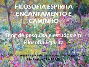 <strong>FILOSOFIA ESPÍRITA: Projeto Estudos Filosóficos Espíritas</strong>