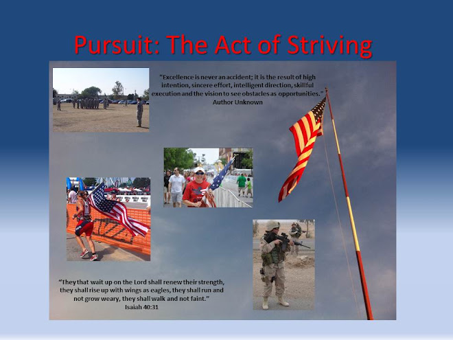 Pursuit: The Act of Striving