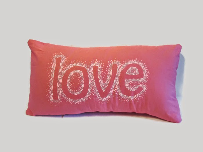 love throw pillow decorative cover