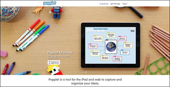 Organiza tus ideas con Popplet: crea divertidos mapas conceptuales