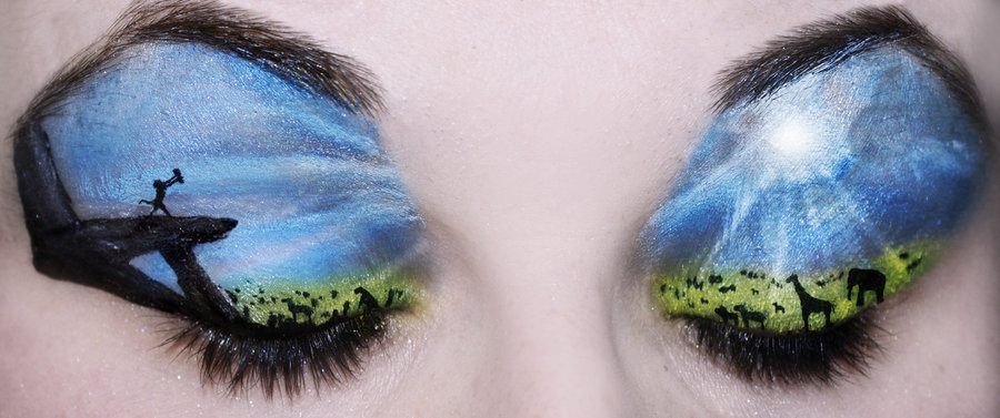 Can you use paint brushes for eye makeup